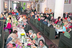 Suppengenuss 2018 in der Nienburger St. Martin Kirche