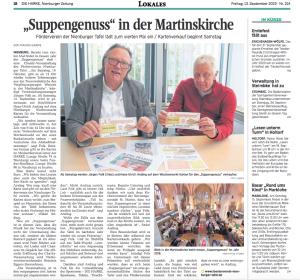 Suppengenuss 2019 - Vorbericht